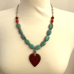 Lucky Brand Turquoise Neclace